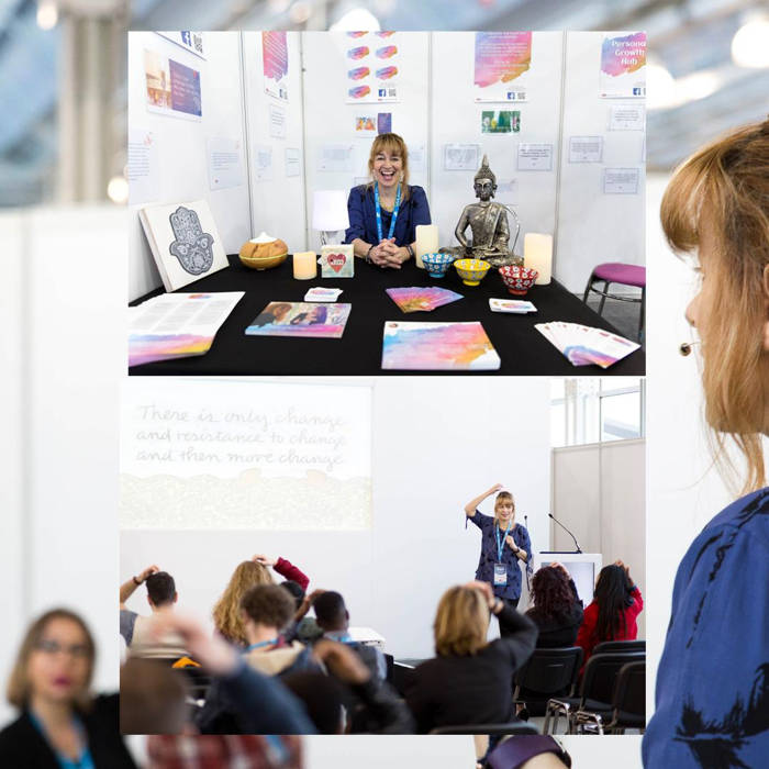 Su Orosa's stand at the Expo